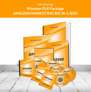Amazon Marketing Biz in a Box Monster PLR Review