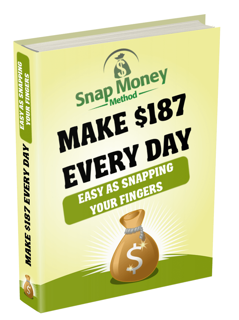 Snap Money Method Review –  Do you want to learn how to earn cash on-line with free site visitors?