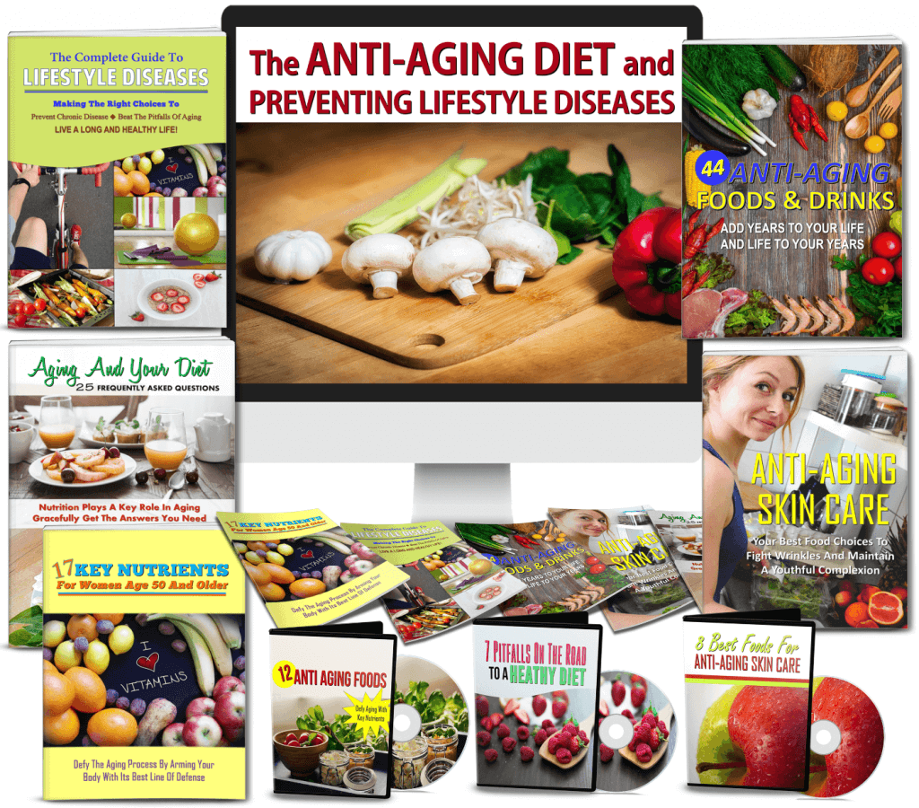 Anti Aging Diet & Preventing Lifestyle Diseases Review