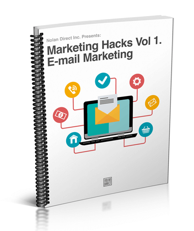Marketing Hacks Vol 1. E-mail Marketing Review