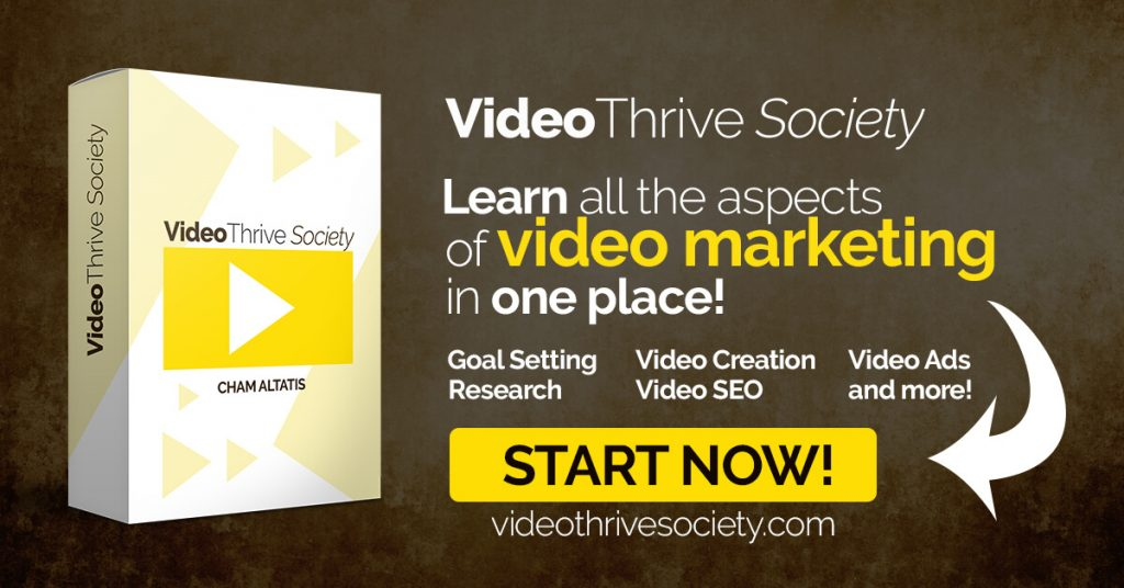 Video Thrive Society Review