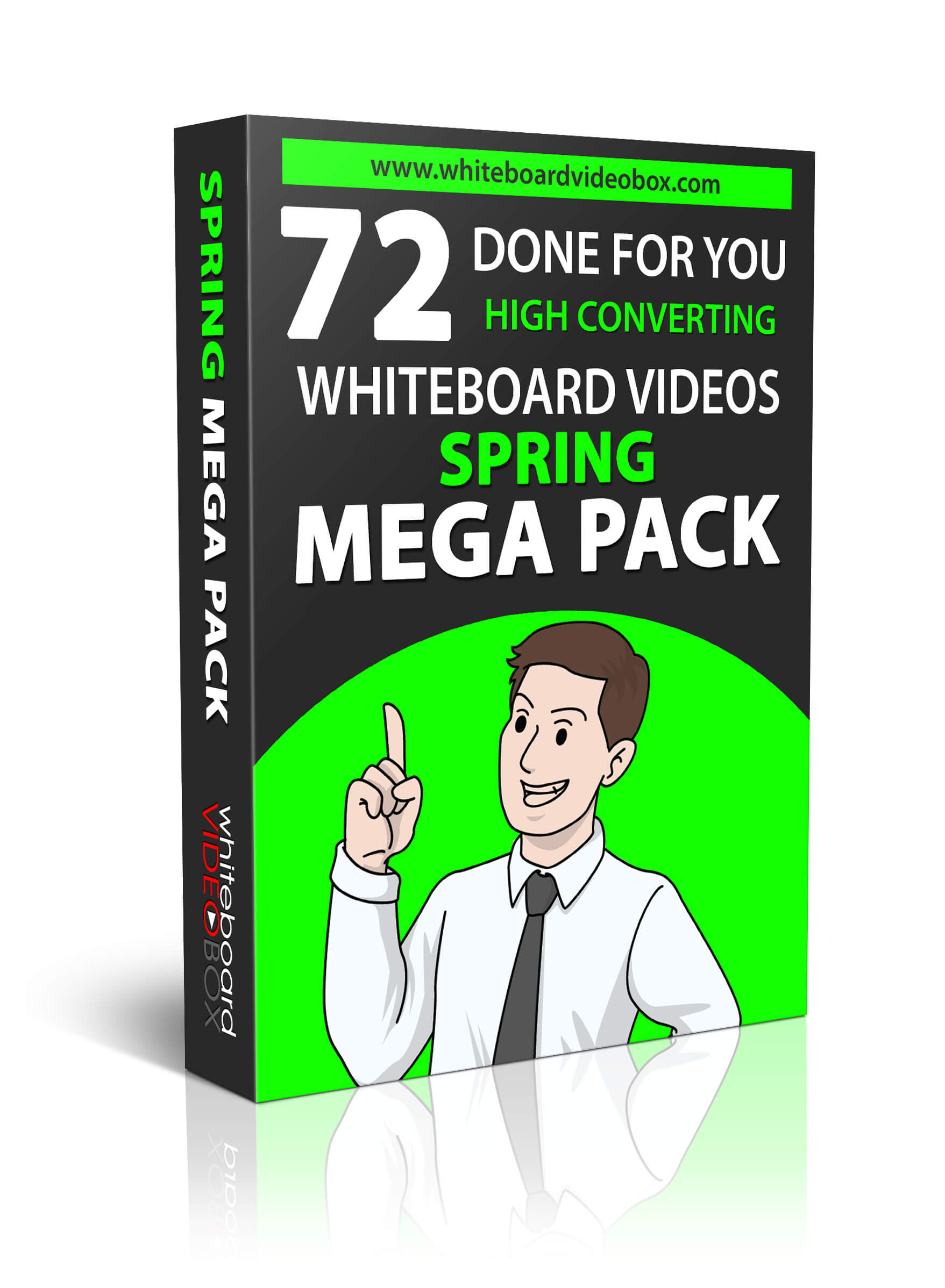 Whiteboard Video – Spring Mega Pack Review – Less than $1/ Whiteboard Video