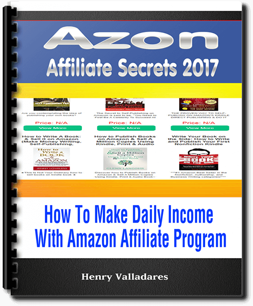 Azon Affiliate Secrets 2017 Review – Generate Easy Amazon Commissions