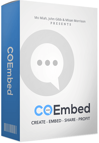 Co Embed Review – Build Huge Lists, Go Viral & Make Commissions Fast