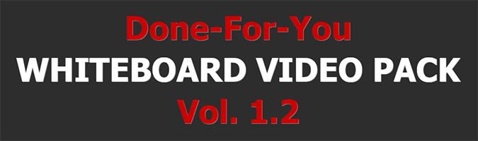 DFY Whiteboard Video Pack 1.2 Review
