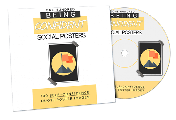 Self-Confidence Quote Posters Review with HUGE BONUS