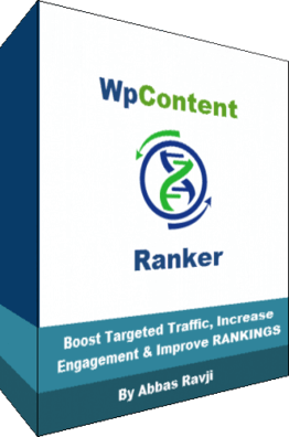 WP Content Ranker Review – Page 1 Content Creation Plugin