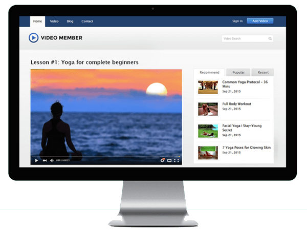 VideoMember Review – A Complete Video Membership Solution