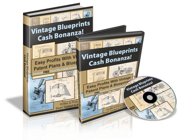 Vintage Blueprints Cash Bonanza Review with HUGE BONUS