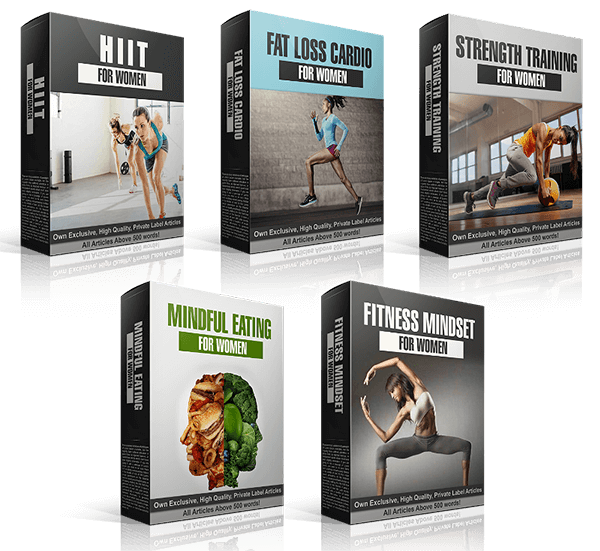 Women's Fitness PLR Review