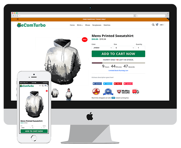 eCom Turbo Review - Make Shopify Store Look Better With No