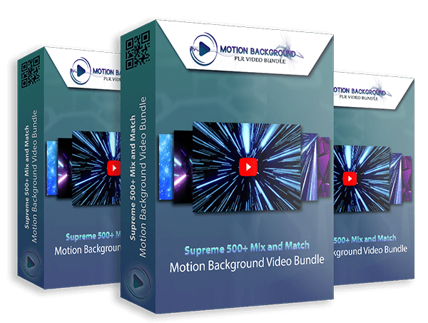 Motion Background PLR Video Bundle Review