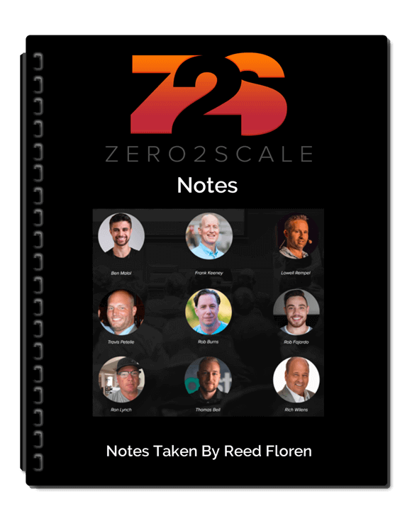Zero2Scale Notes Review