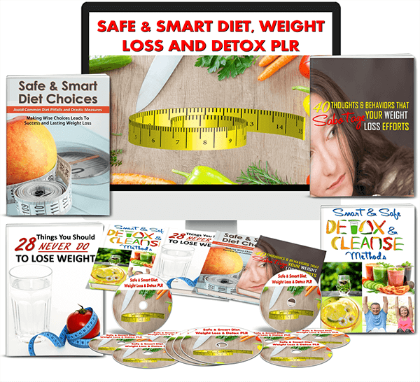 Safe & Smart Diet, Weight Loss & Detox PLR Review