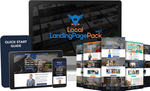Local Landing Page Pack vol.2 Review