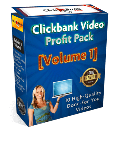 Clickbank Video Profit Pack [Volume 1] Review
