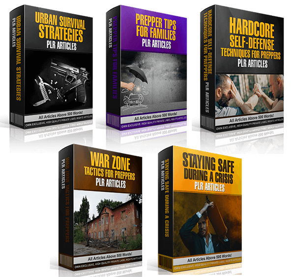 Survival / Prepper Niche PLR Bundle Review