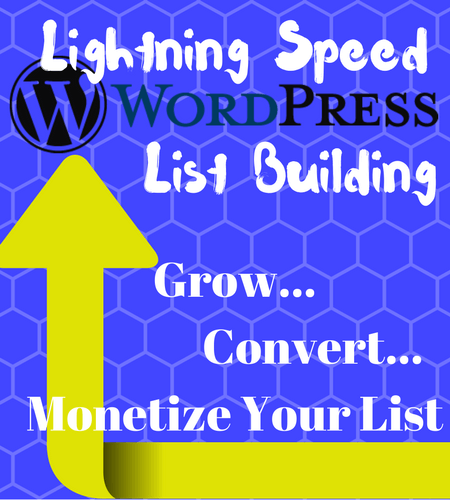Lightning Speed WordPress List Building Review