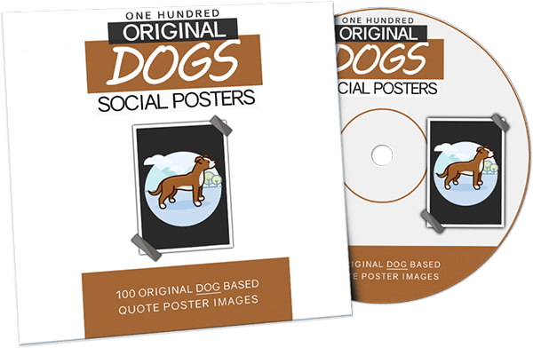 [PLR] Dog Quote Posters Package Review – 100 Dog Related Quote Poster Images