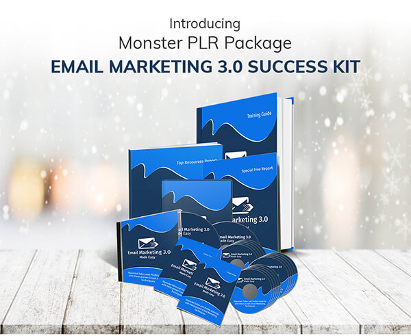 Email Marketing 3.0 Success Kit PLR Review