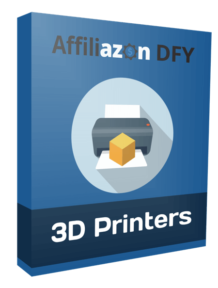 Affiliazon DFY: 3D Printers PLR Niche Pack Review