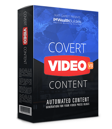 Covert Video Press V3 Review