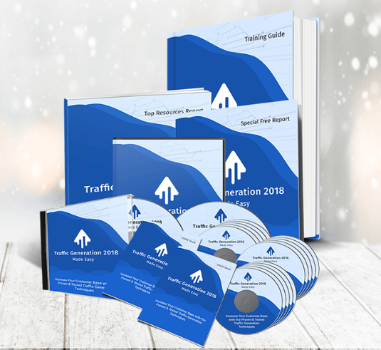 Traffic Generation 2018 Success Kit PLR Review