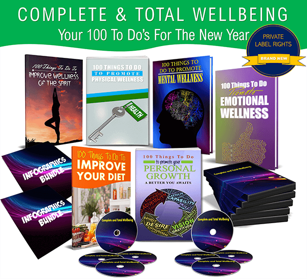 Complete & Total Wellbeing Review – New High Quality Wellbeing PLR