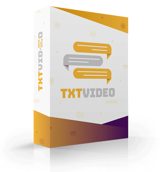 TXTVideo Review – The 1st To Market Video Software
