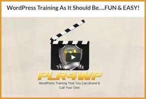 PLR4WP Review