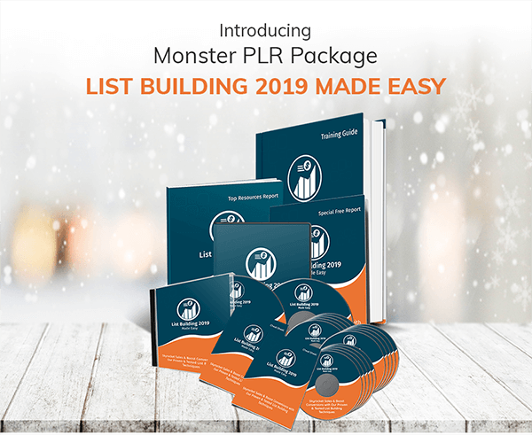 List Building 2019 Success Kit PLR Review
