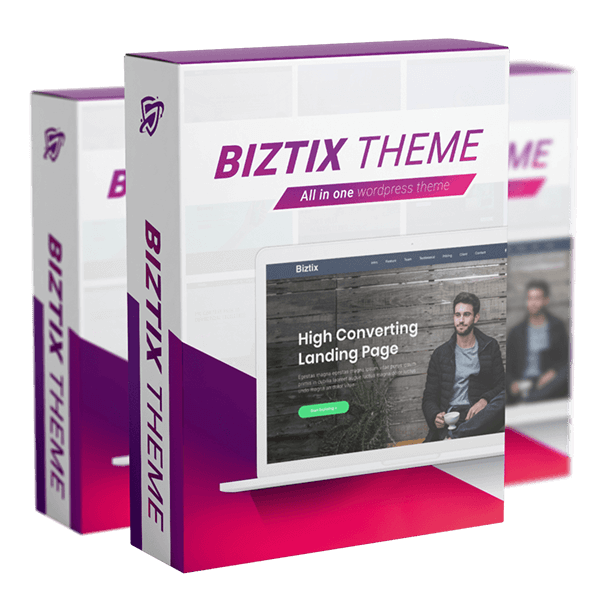 BIZTIX WP Theme Review