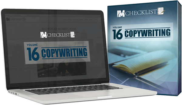 IM Checklist V16 Copywriting Review