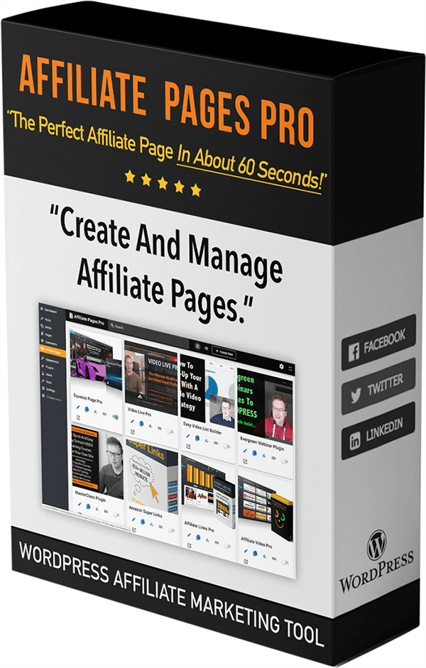 Affiliate Pages Pro Review