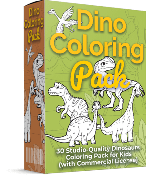 Dino Coloring Pack Review