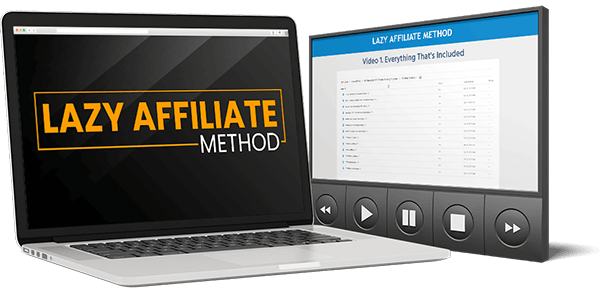 Lazy Affiliate Method Review – Plug N Play Affiliate Marketing System