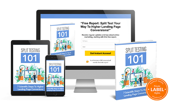 Split Testing 101 PLR Review