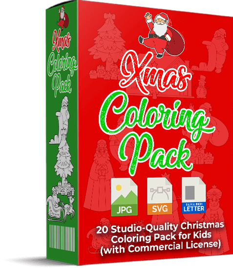 Xmas Coloring Pack PLR Review