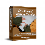 Low Content Creation Machine Review