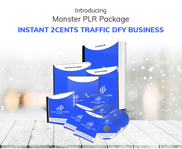 Instant 2Cents Traffic DFY Business PLR Review