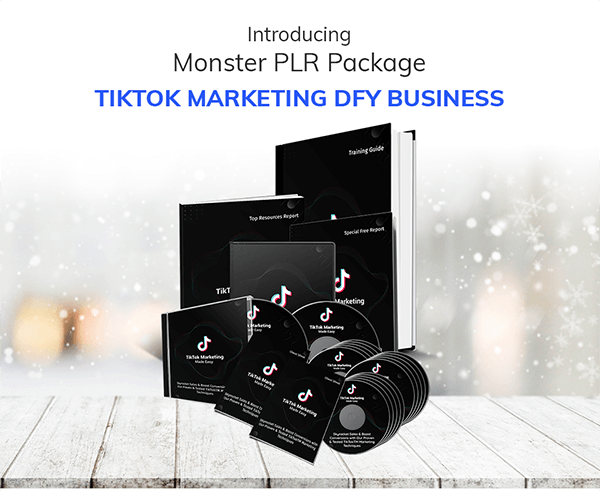 TikTok Marketing DFY Business PLR Review
