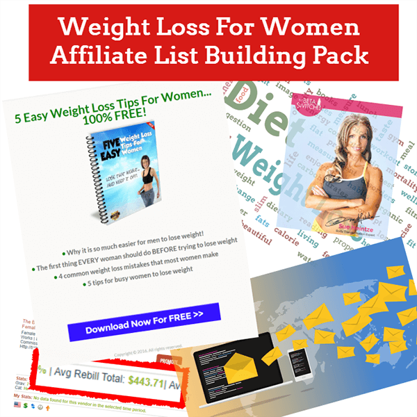 Weight Loss For Women Affiliate List Building Pack Review