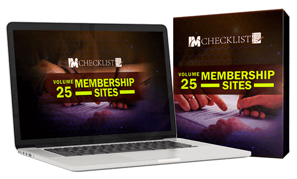 IM Checklist V25 Review – Passive Income From Membership Sites