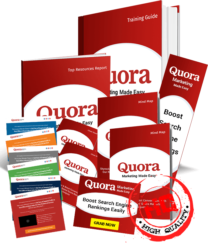 Quora Marketing DFY Business PLR Review