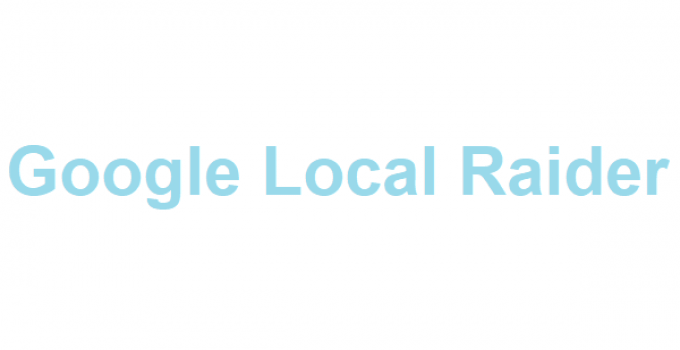 Google Local Raider Review