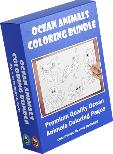 DFY Ocean Animals Coloring Bundle Review
