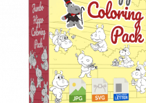 Jumbo Hippo Coloring Pack Review