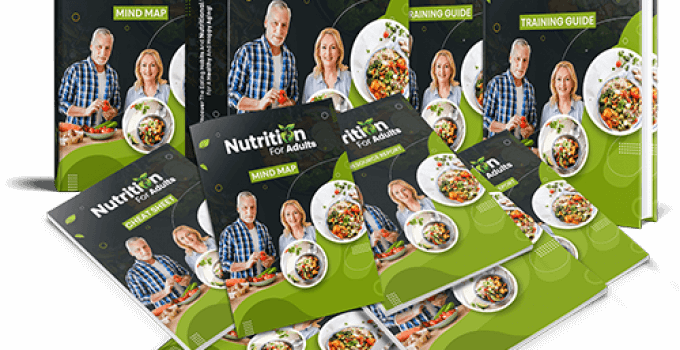 Nutrition For Adults PLR Review