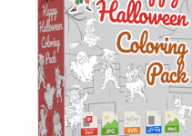 Happy Halloween Coloring Pack Review