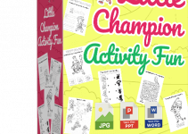 Little Champion Activity Fun Review – 144 Done-for-You Sport Activity Pages for Kids